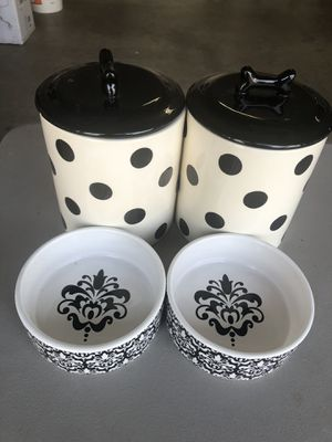 Doggie Bowls & Storage Containers for Sale in Selma, CA