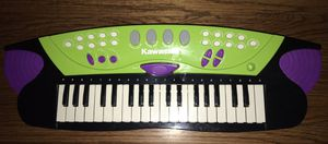 Kids Kawasaki Music Keyboard and drum for Sale in Akron, OH