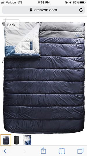 Dolomite double sleeping bag 20F for Sale in Colorado Springs, CO