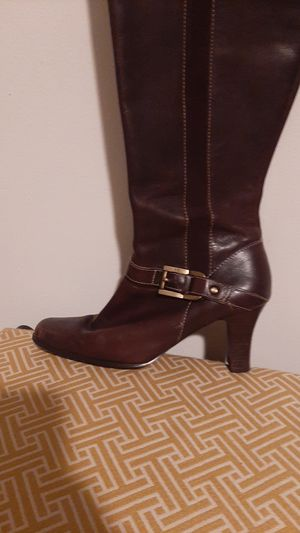 6.5 Anne Klein tall boots for Sale in South Norfolk, VA