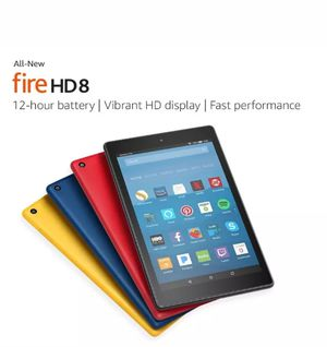 Amazon Fire HD 8 - Tablet - Fire OS 5 (Bellini) - 16 GB - Marine Blue - with Special Offers for Sale in Queens, NY