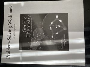 Problem Solving Workbook to accompany General Chemistry The Essential Concepts Chang for Sale in Ithaca, NY