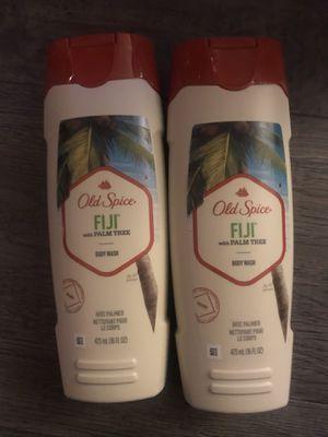 Old spice Fiji w/palm tree body wash $3.50 each for Sale in San Bernardino, CA