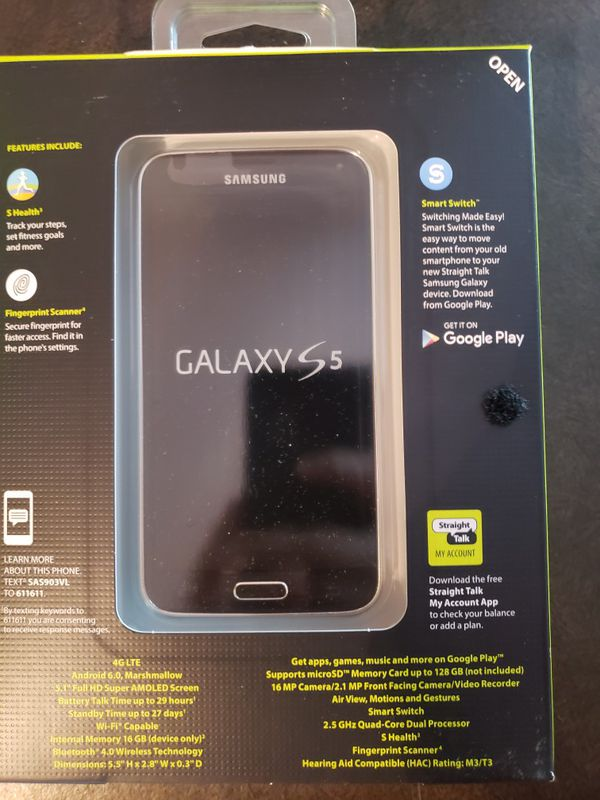 Straight Talk Galaxy S5 16 GB for Sale in Bonner Springs, KS - OfferUp