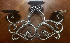 Candle Holder Metal 3 tiers for Sale in Fresno, CA