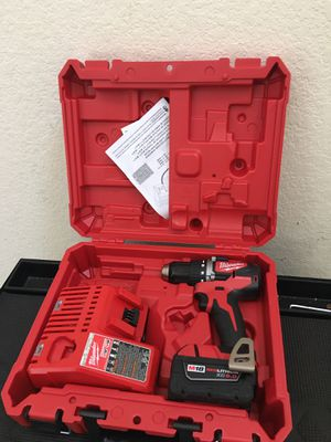 NEW MILWAUKEE M18 BRUSHLESS DRILL DRIVER/ BATTERY/ CHARGER for Sale in Spring, TX