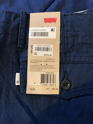 Brand New Levi Cargo Shorts for Sale in Detroit, MI