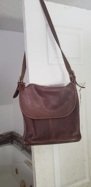 Authentic vintage leather Coach bag for Sale in Winfield, PA