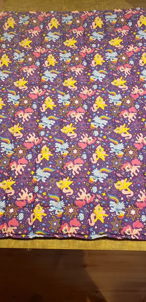 6lb My Little Pony Weighted Blanket for Sale in Woodruff, WI
