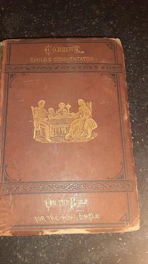 1873 children's commentator bible for Sale in Battle Creek, MI