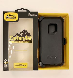 Samsung Galaxy S9 OtterBox with Belt Clip Holster BLACK for Sale in Norco, CA