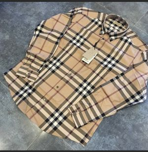 Burberry button down shirt for Sale in Abington, MA