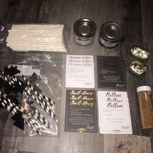 Misc. black, white & gold party supplies for Sale in Pinellas Park, FL