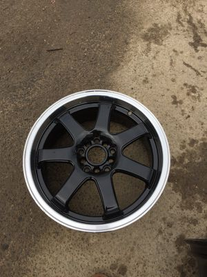 2, rims white and black brand new 17/9.5 for Sale in Columbus, OH