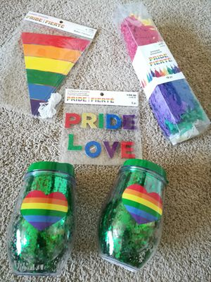 Pride Love Tumblers and Home Decor Lot for Sale in Sunnyvale, CA