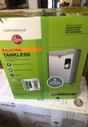Tankless water heater brand new for Sale in Redwood City, CA