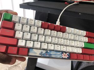 RK61 Mechanical Gaming Keyboard , Brown switches! ( Christmas Edition) for Sale in South Bend, IN