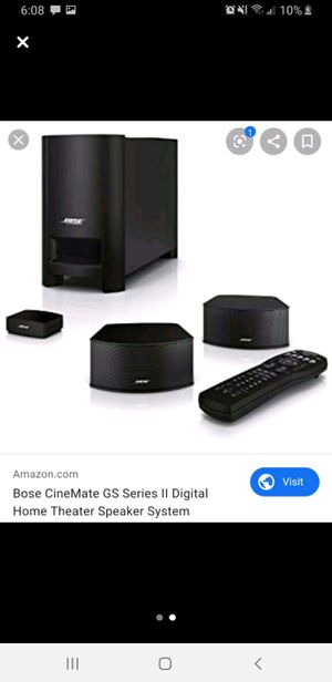 Bose Cinemate system for Sale in San Jose, CA