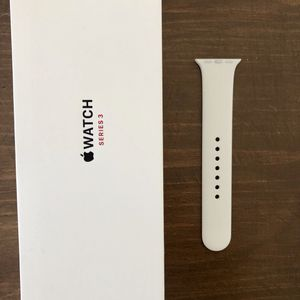 Apple Watch Series 3 Adjustable White Sports Band for Sale in Durham, NC