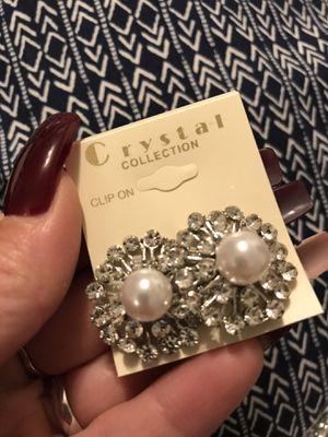 Clip-on earrings new $2 for Sale in Long Beach, CA