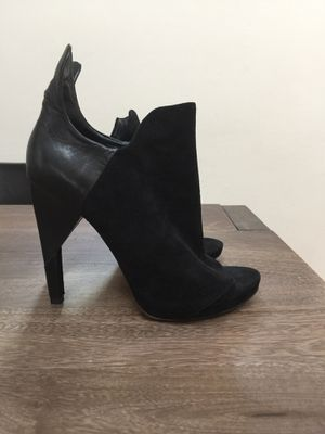 Authentic Alexander Wang Open Toe Boots Suede and Leather size 9 for Sale in Santa Monica, CA