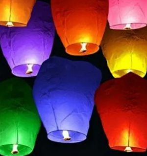 Chinese sky lanterns for Sale in Sacramento, CA