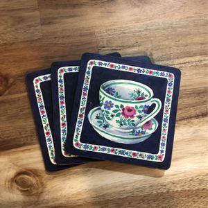 Set of 3 Vintage Coasters for Sale in San Luis Obispo, CA