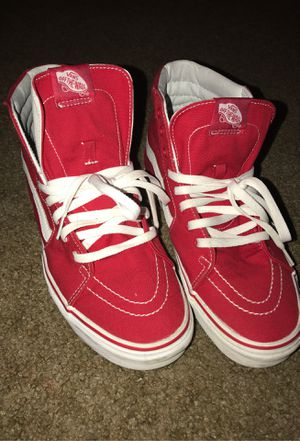 Vans Red Classic's for Sale in Los Angeles, CA