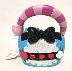 Disney Parks Alice in Wonderland Handbag New Ornament for Sale in Spring Valley, CA