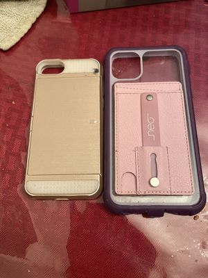 iPhone 5/6 case on left and iPhone 11 Pro Max for Sale in Orlando, FL