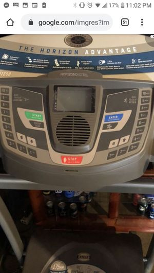 Horizon dt650 treadmill mint condition for Sale in Spring Hill, FL