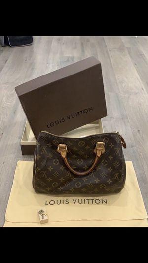 """Louis Vuitton Speedy """"30"""" 100% Autentica for Sale in Covina, CA"""