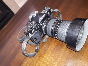 Camera canon A1 and lenses for Sale in Englewood, CO