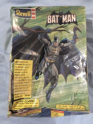 Batman Revell 1/8 Plastic Model Kit Retro for Sale in Mesa, AZ