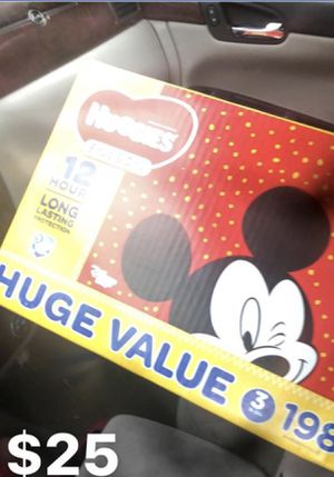 198 ct Size 3 Huggies for Sale in Nashville, TN