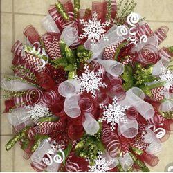 Handmade Deco Mesh Wreath for Sale in Martinsburg,  WV