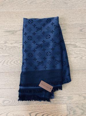 Louis Vuitton Monogram Blue Shawl for Sale in Fairfax, VA