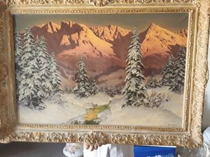 Oil painting by Australian painter Hans Barma. for Sale in Phoenix, AZ