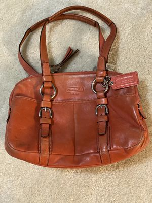 Coach hand bag Good Condition for Sale in Modesto, CA
