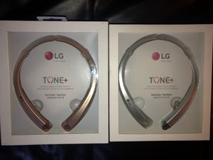 Brand new Bluetooth Retractable Wireless Earphones Headset headphones LG hbs910 for Sale in Miami, FL