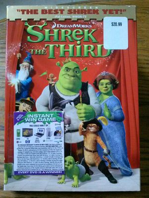 Shrek the third DVD. Pick up kempsville area of vabeach. for Sale in Virginia Beach, VA
