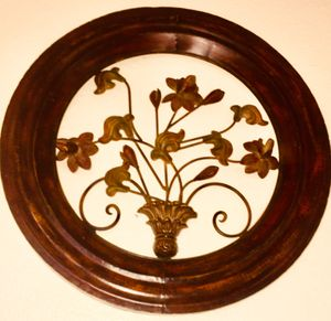 detailed metal wall art. W24xD3 inch for Sale in Chandler, AZ