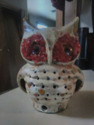 Owl candle holder for Sale in Oklahoma City, OK