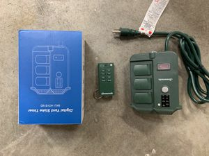Outdoor timer (6 outlets) for Sale in Redmond, WA