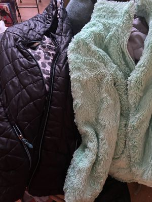 2 girls coats 13 for both size 10/12 for Sale in Paducah, KY