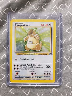 KANGASKHAN 5/64 Holo Jungle Set Pokemon Card Rare for Sale in Indianapolis, IN