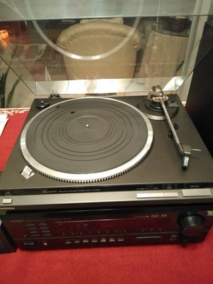 Technics Turntable and Speakers Complete Stereo System for Sale in Poway, CA