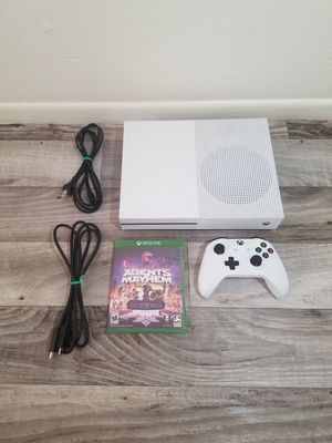 🚩 Xbox One S White 4k HDR PRICE REDUCED 🚩 for Sale in Phoenix, AZ