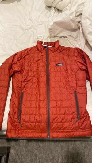 New Patagonia nano puff jacket men's medium new adobe for Sale in Anaheim, CA