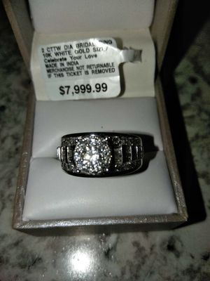 Wedding ring size 7/8 but can be resized for Sale in Peoria, AZ